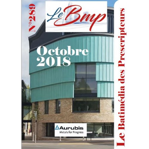 Le Batimédia des prescripteurs Numéro 289 Octobre 2018