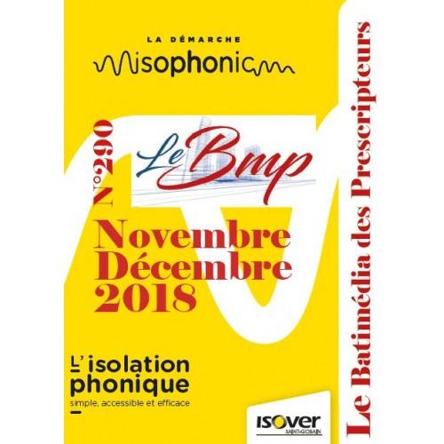 Le Batimédia des prescripteurs Numéro 290 Novembre Décembre 2018