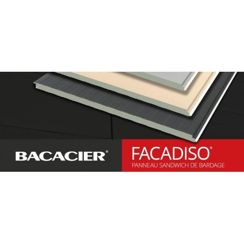 BACACIER Facadiso Panneaux sandwich de bardage