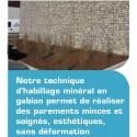 Habillage ou parement en gabion aquaterra solutions