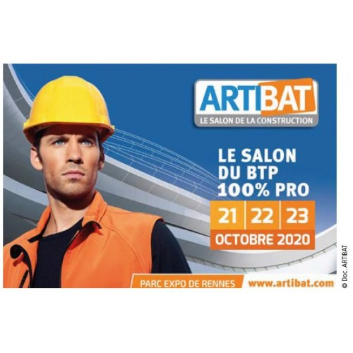 17ème édition du Salon ARTIBAT, les 21/22/23 octobre 2020