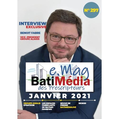 Le Batimédia des prescripteurs Numéro 297 Janvier 2021