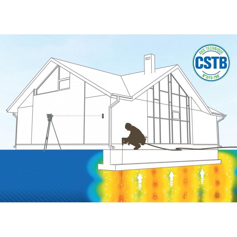 Consolidation des sols et stabilisation de bâtiments