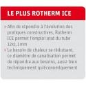 Système de plancher chauffant rafraichissant Rotherm Ice