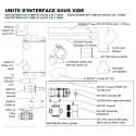 Evac- Boite 2,5- Unité d'interface sous vide