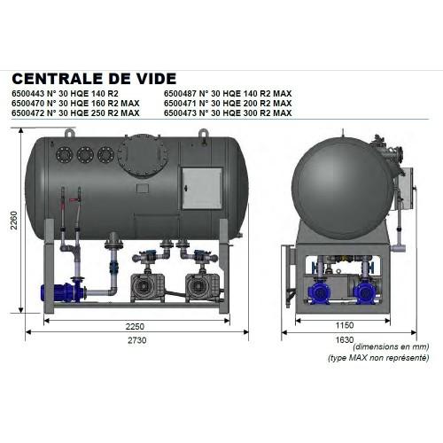 Evac- Pompe N30- Centrale de vide