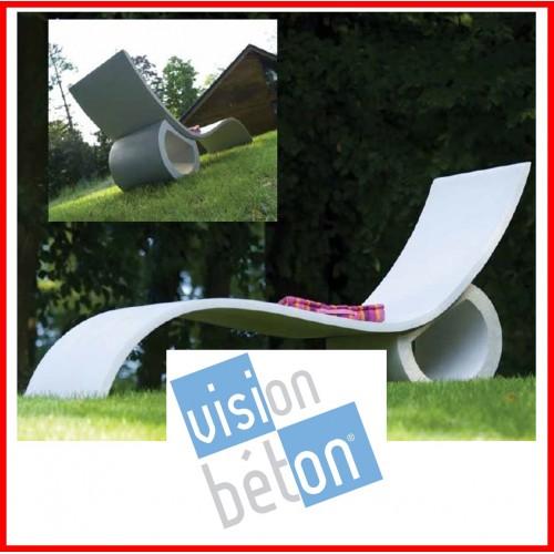 Vision Beton - Chaises Longues