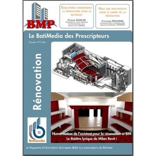 Le BMP Batimédia des prescripteurs Mai 2016 - Rénovation - Emag