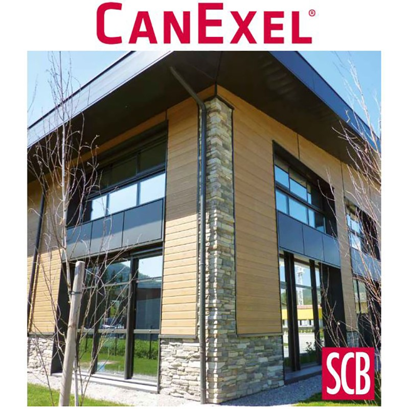 Bardage bois CANEXEL par SCB-Documentation