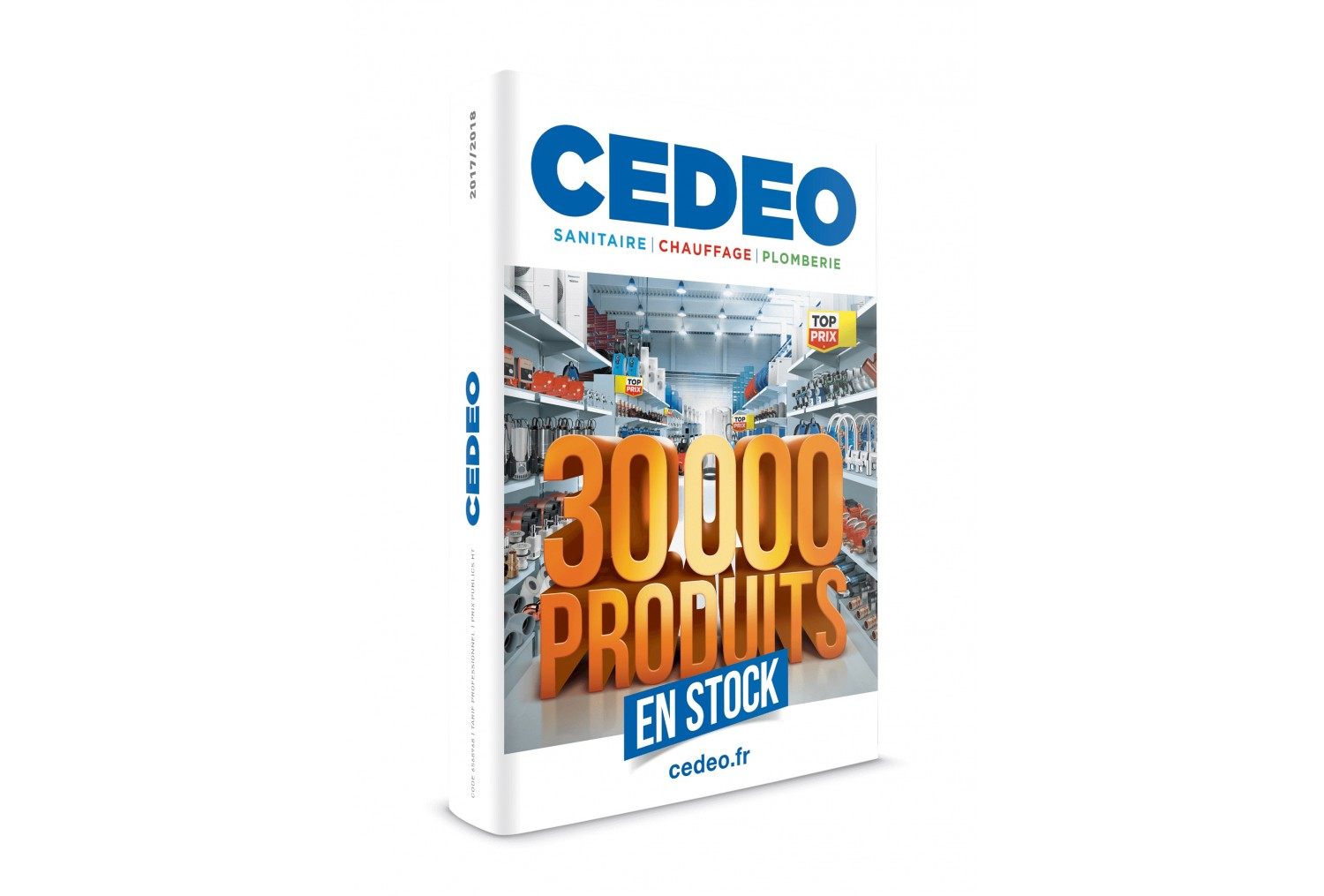CEDEO édite son catalogue Pro 2017