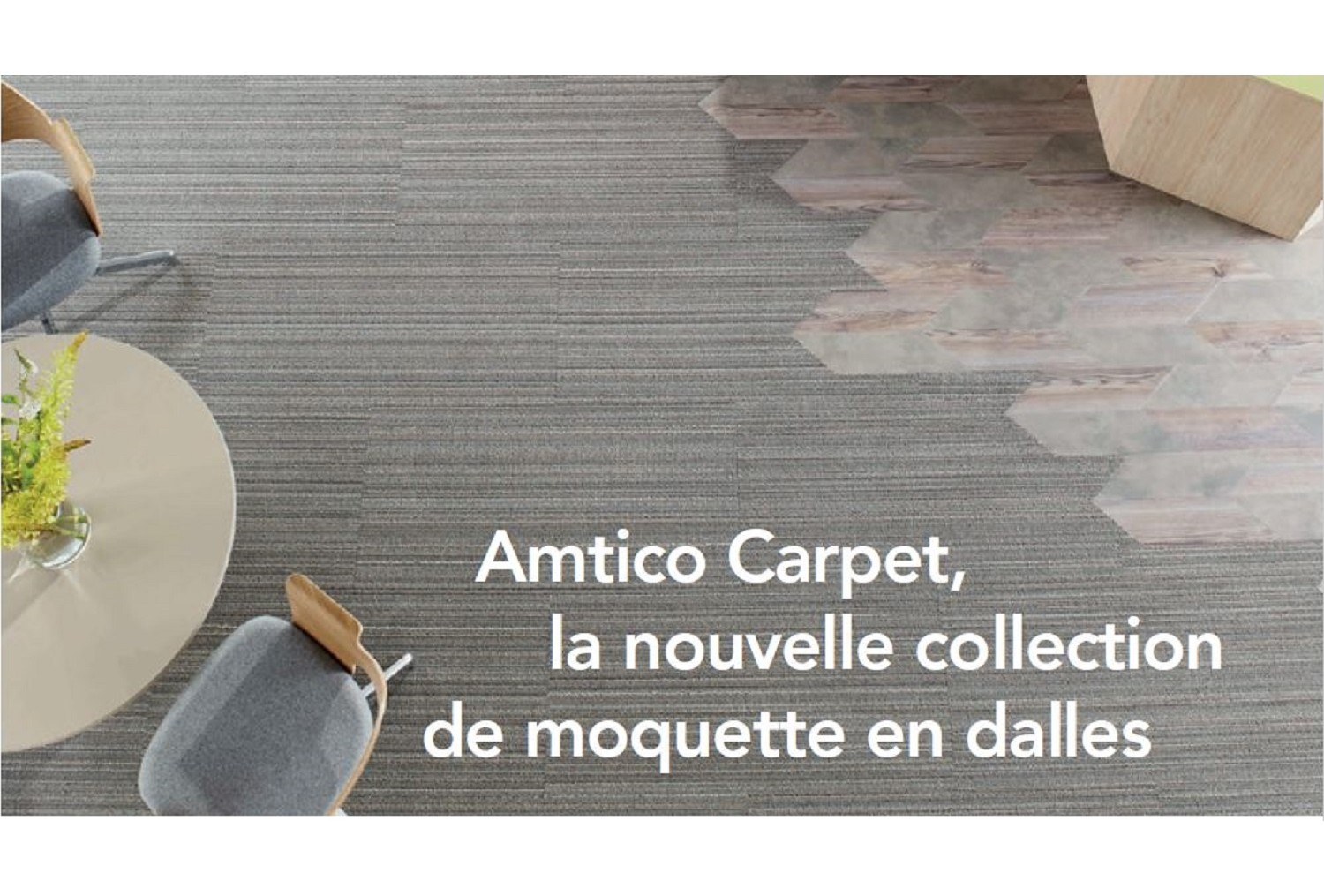 Amtico Carpet, la nouvelle collection de moquette en dalles