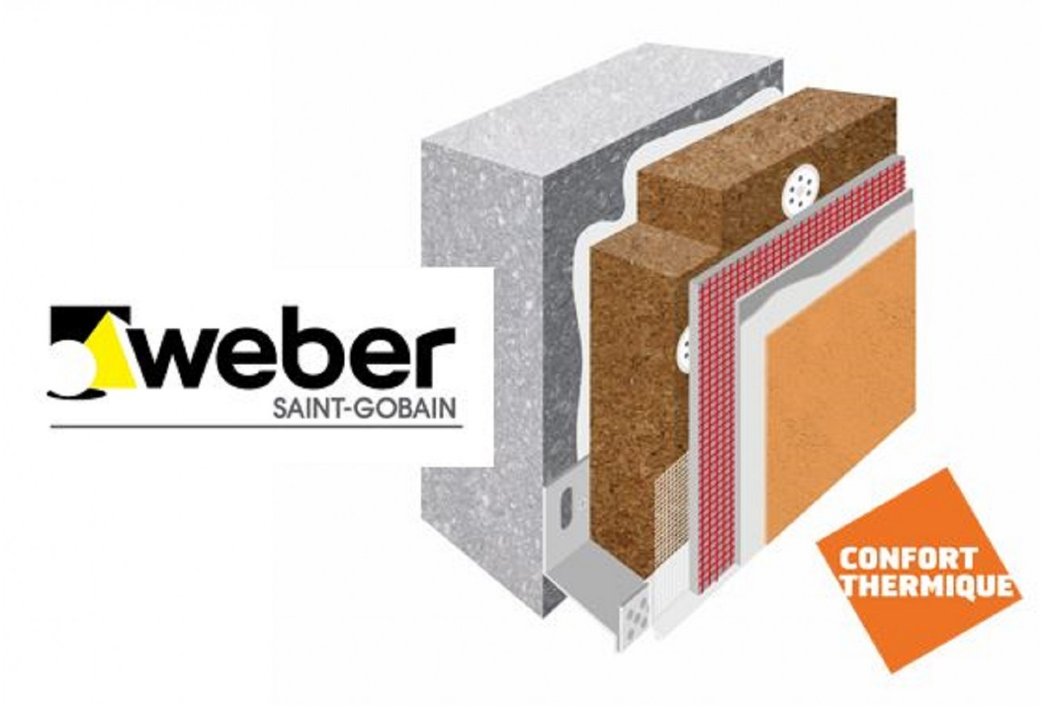Weber : webertherm XM natura , Innovation Batimat