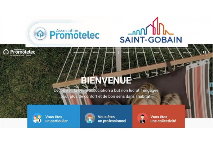 Saint-Gobain rejoint l'association Promotelec