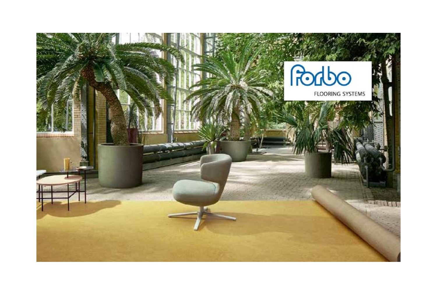 Forbo - Marmoleum marbled : collection à faible impact environnemental