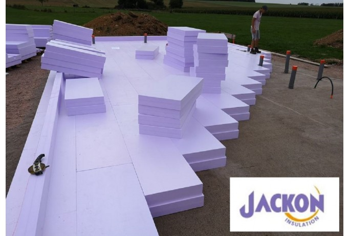 JACKODUR® Atlas : isolation haute performance et chantier ultra-simplifié.